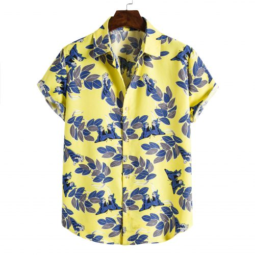 Shit Shirt - Yellow Floral Hawaiian Shirt